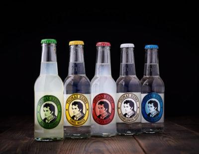 Reklamefoto af flasker